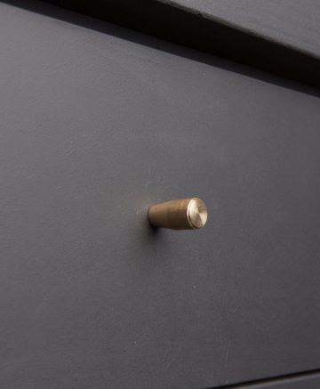 MINIMALIST kitchen drawer knobs brass