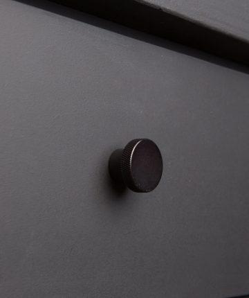 MODERNIST kitchen drawer knobs black