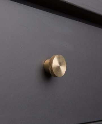 MODERNIST kitchen drawer knobs brass