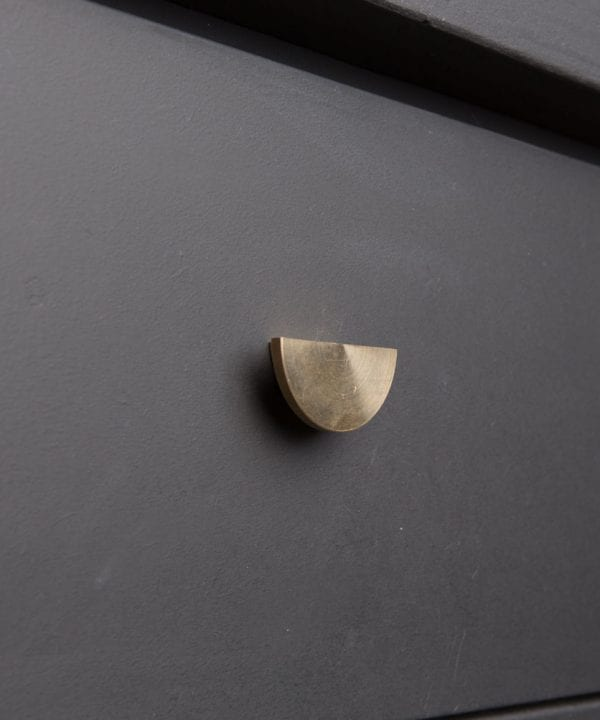 NOUVEAU kitchen drawer knobs brass