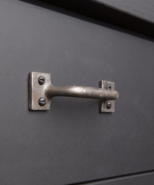 SLIM IRON AGE RAW Industrial kitchen door handle