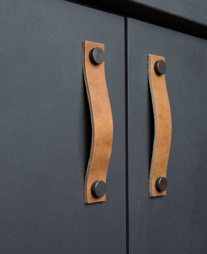 kitchen door handle thor umber & bronze