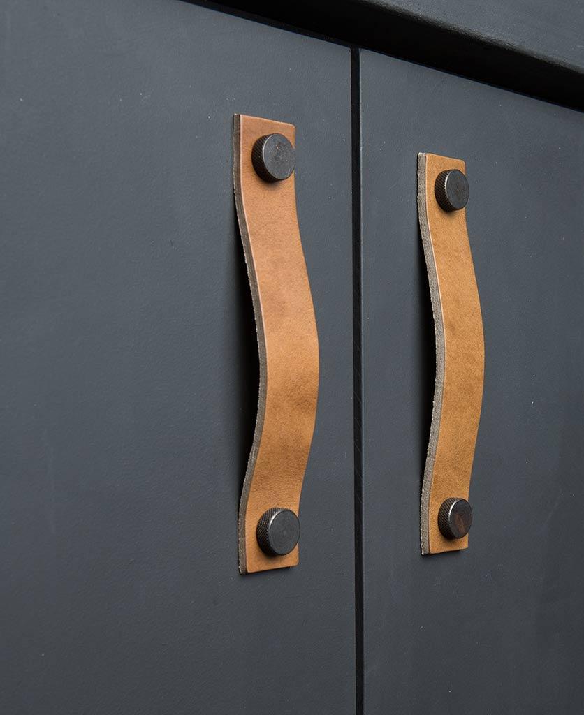 kitchen door handle thor umber & bronze