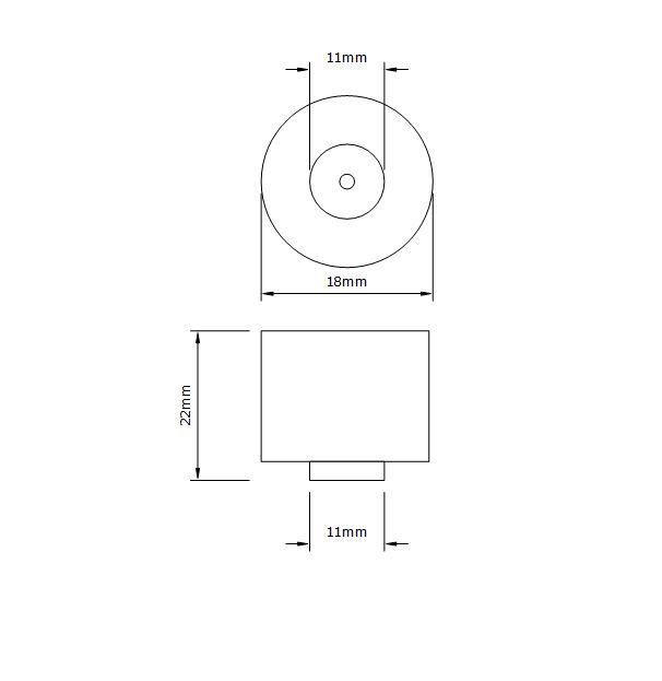 avat garde kitchen drawer knob dimensions