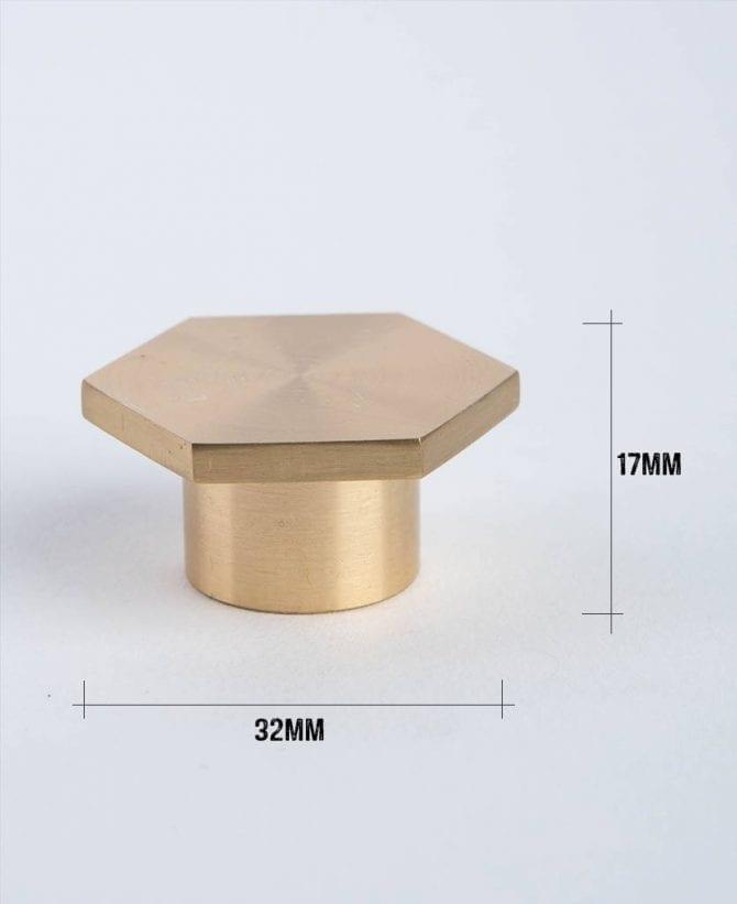 bauhaus brass dimensions