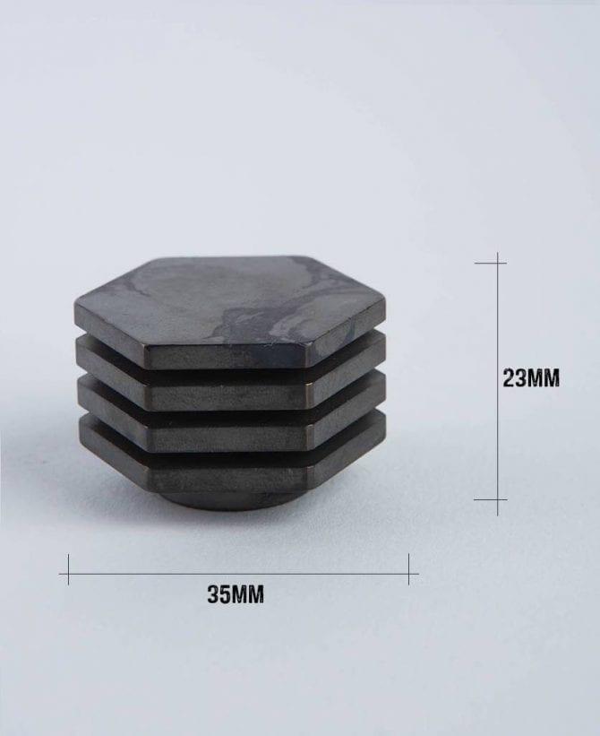 deco bronze dimensions