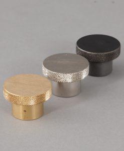 MODERNIST kitchen drawer knobs for industrial style kitchen units