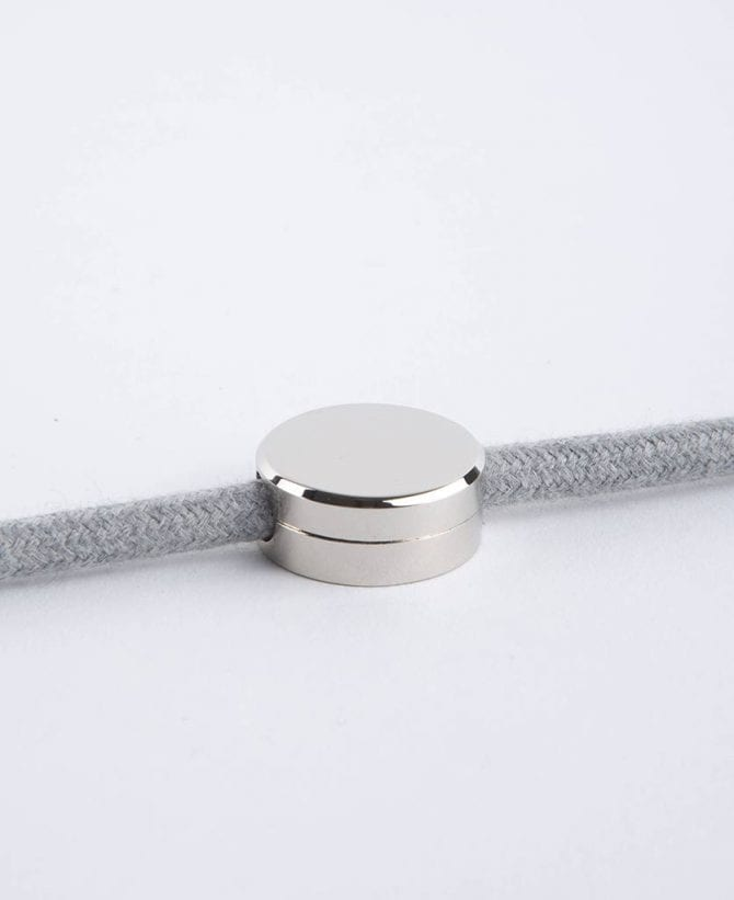 magnetic cable management guides silver