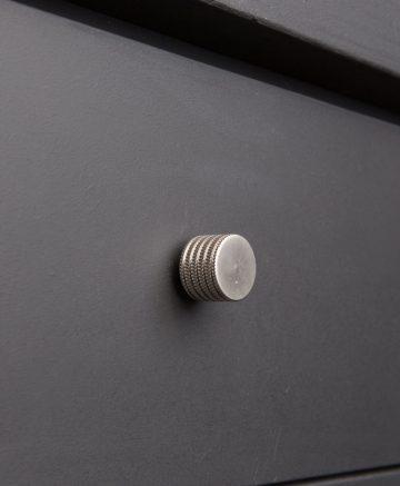kitchen drawer knobs avant-garde large silver