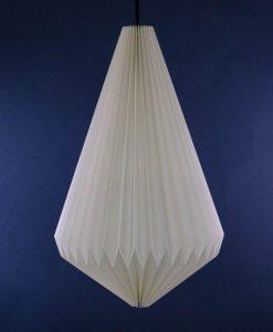 origami lampshade white pendant