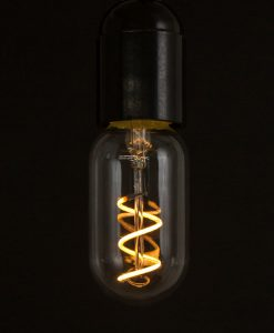 LED filament bulb radio valve loose spiral warm glow