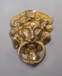 ASLAN brass door knocker