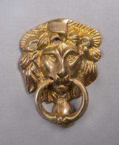 ASLAN brass door knocker