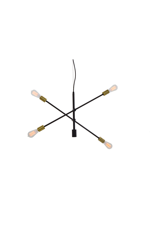 Trikonasana Arm Ceiling Light With 2 Or 3 Arm Options