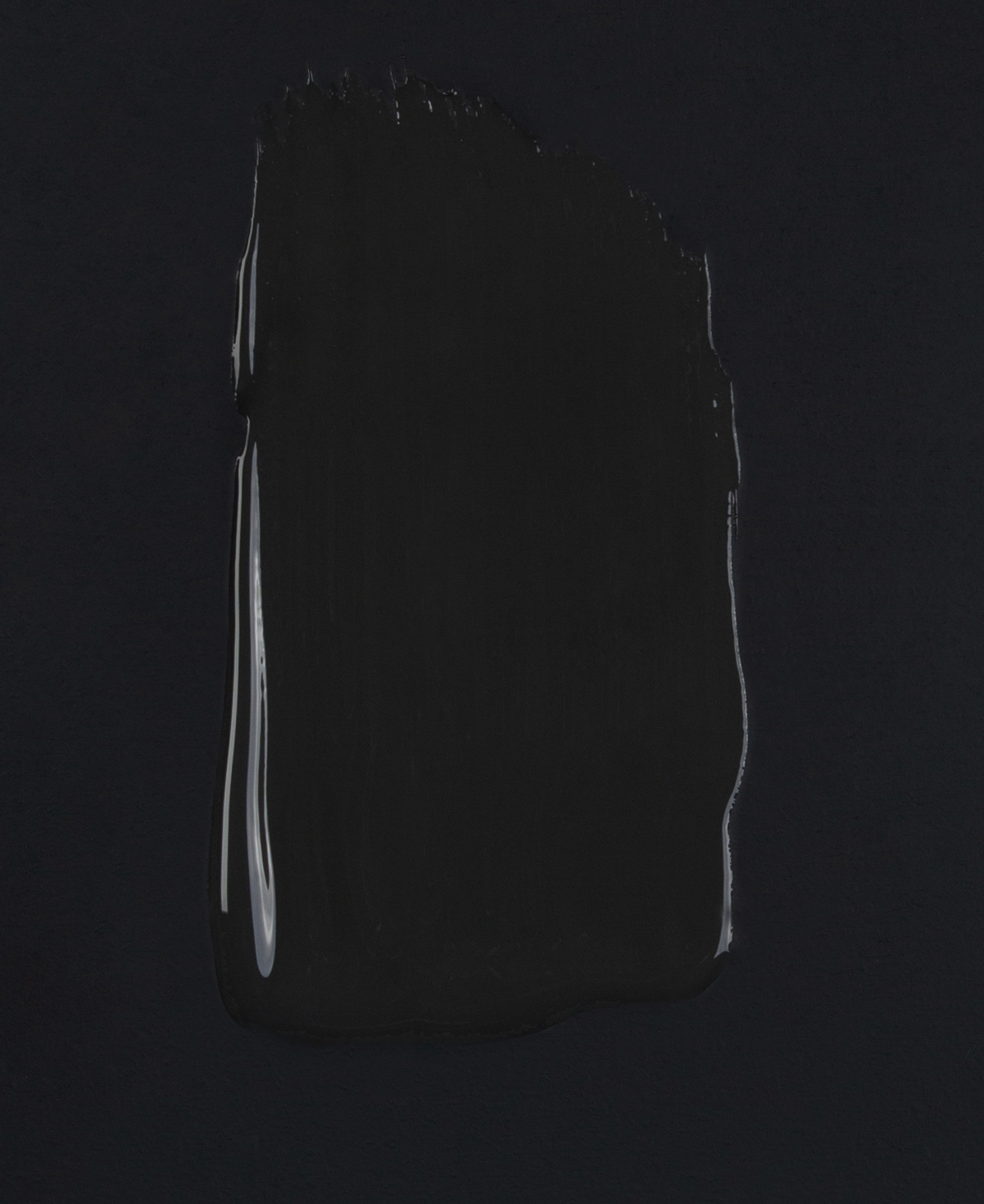 All the lights off dark grey paint swatch on dark background