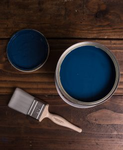 Blue Movie Paint flat matt emulsion