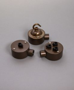 Single Conduit Junction Box Brewer's Brass