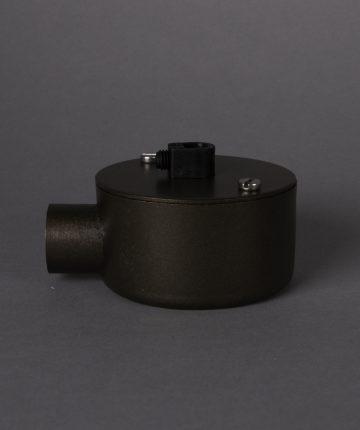 brewer's brass single junction conduit 1 point