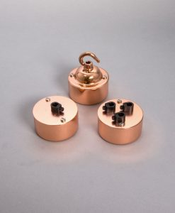 Pattress box polished copper