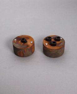 Pattress Box Tarnished Copper