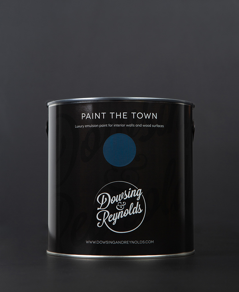 in deep water paint tin