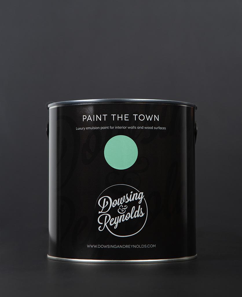 make a mint paint tin