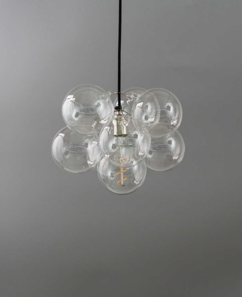 Bubble chandelier ceiling light single or multi outlet bubble chandelier single point 8 bauble arubaitofo Image collections