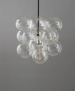 bubble chandelier single point 12 bauble