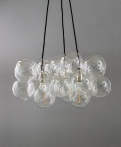 bubble chandelier triple point 24 bauble