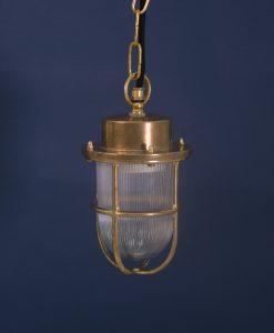 bulkhead light george polished brass