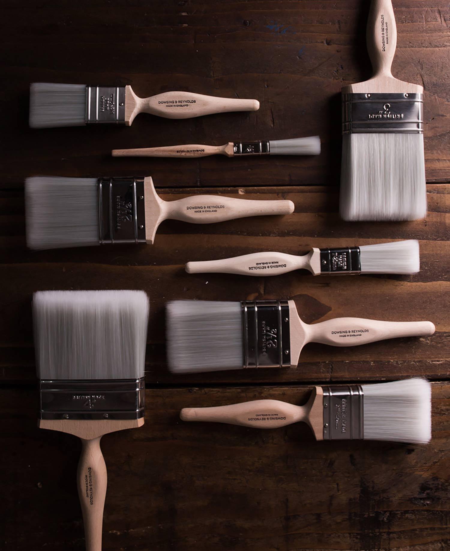 designer paint brushes dowsing and reynolds