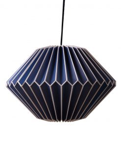 ian snow paper light shade blue
