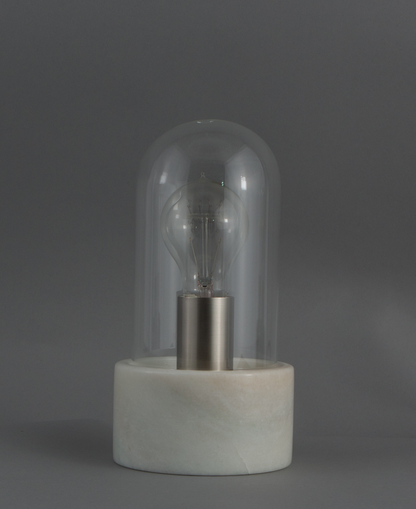 Oracle Marble Amp Glass Table Lamp In Our Danish Lighting Range