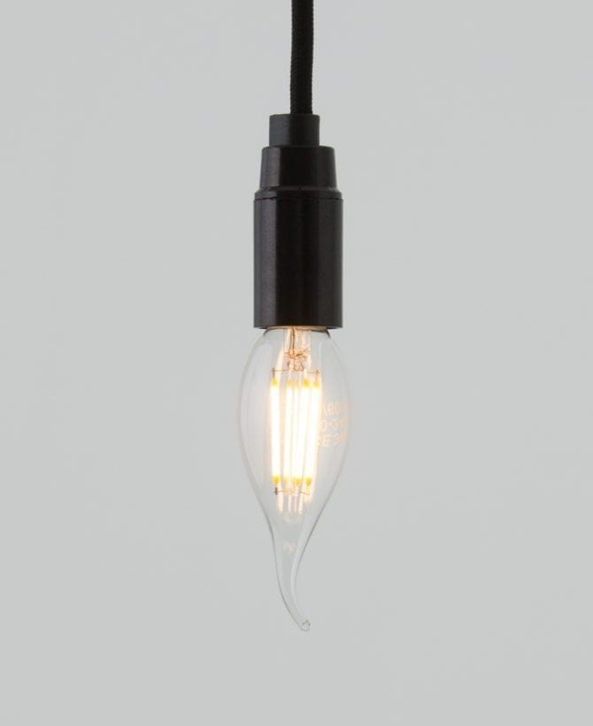 tail whip e14 led light bulb squirrel cage filament
