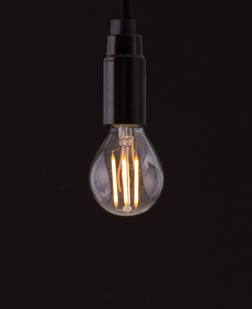 e14 led golf bulb squirrel cage filament warm glow. Black Bedroom Furniture Sets. Home Design Ideas