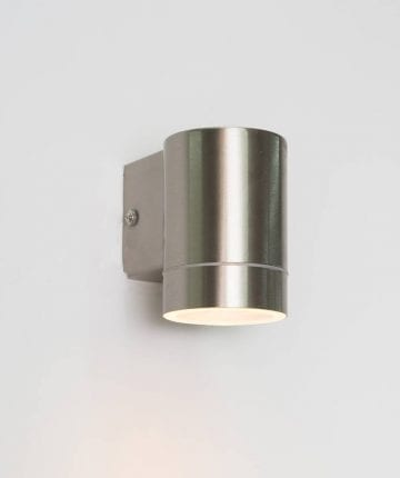 Neo Outdoor Wall Light silver