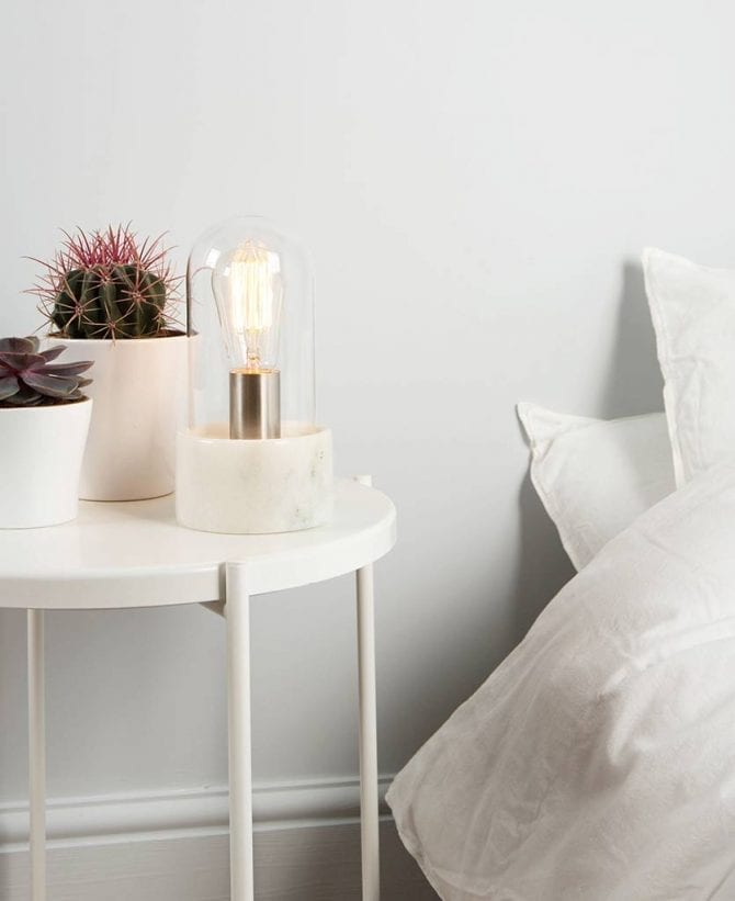 Oracle Marble & Glass Table Lamp