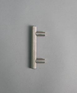 silver skyscraper door handle 10cms