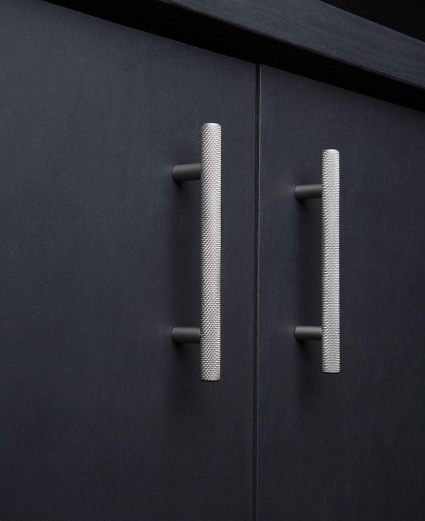Skyscraper Knurled Kitchen Door Handle Available In Four
