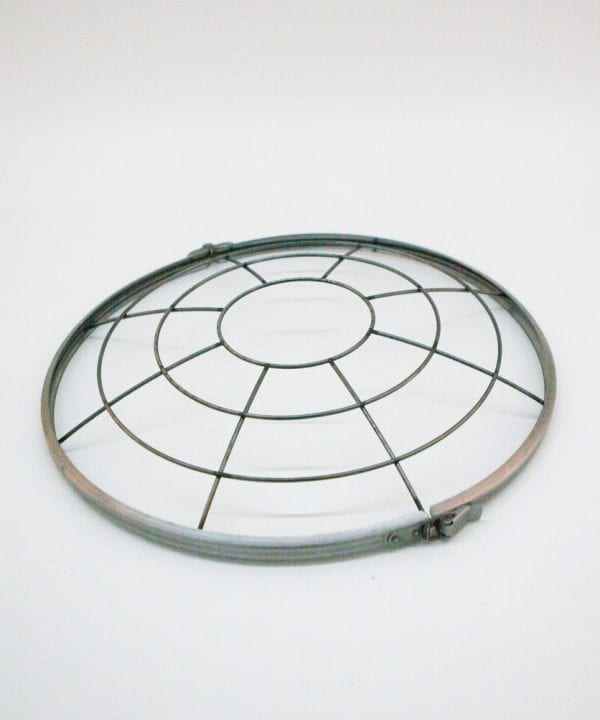 steel cage for industrial light shades
