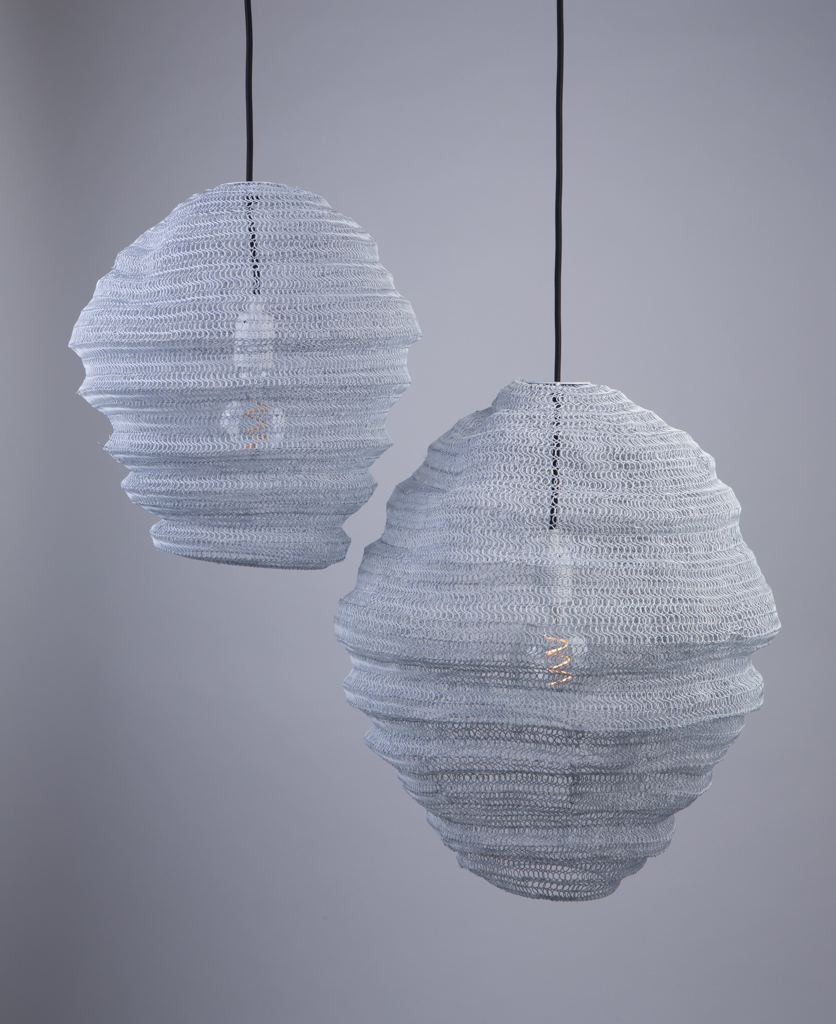 Baya Nest Lights Metal Mesh Pendant Lights Dowsing