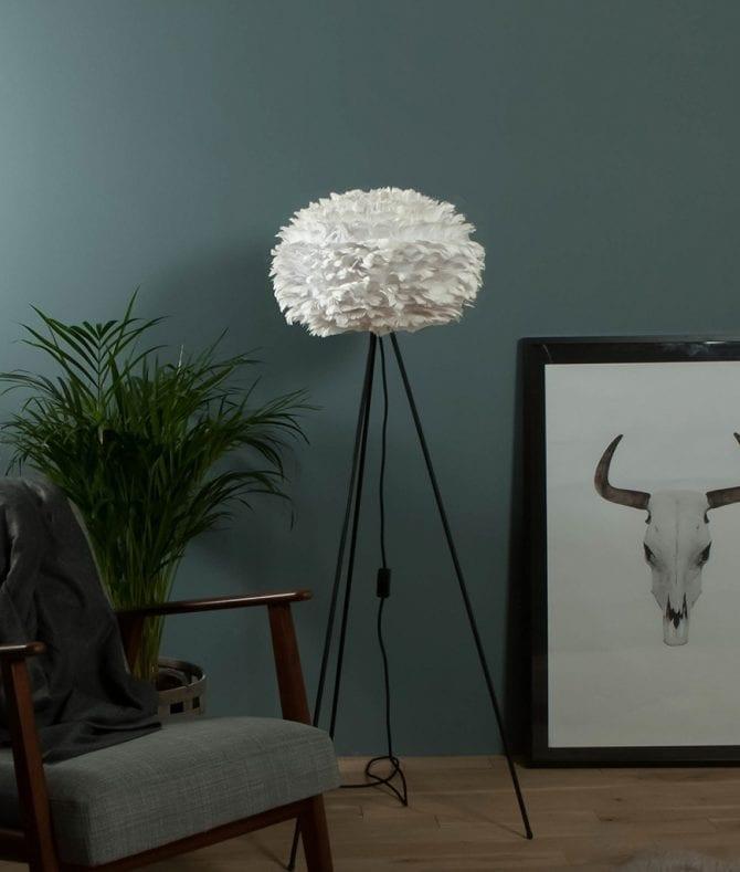 White Vita EOS Floor Lamp
