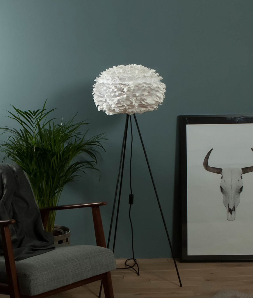 White Vita EOS Floor Lamp