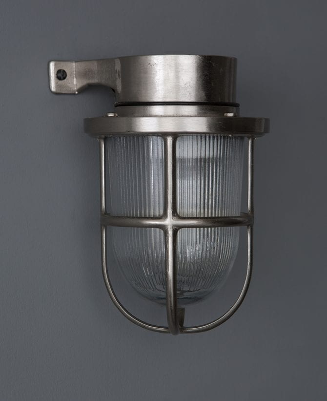 simon silver bulkhead light
