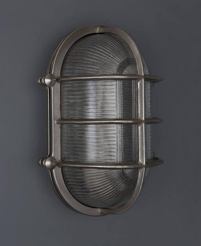 bulkhead light big steve silver