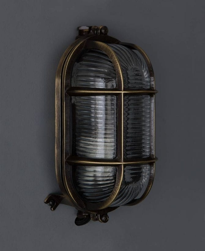 bulkhead light dave aged brass