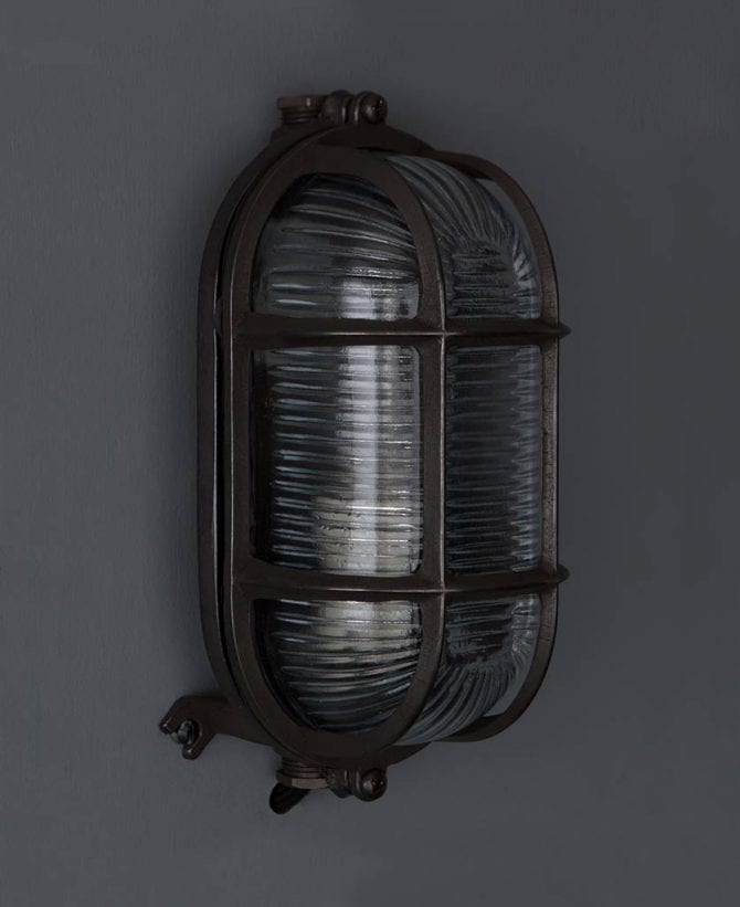 bulkhead light dave pewter