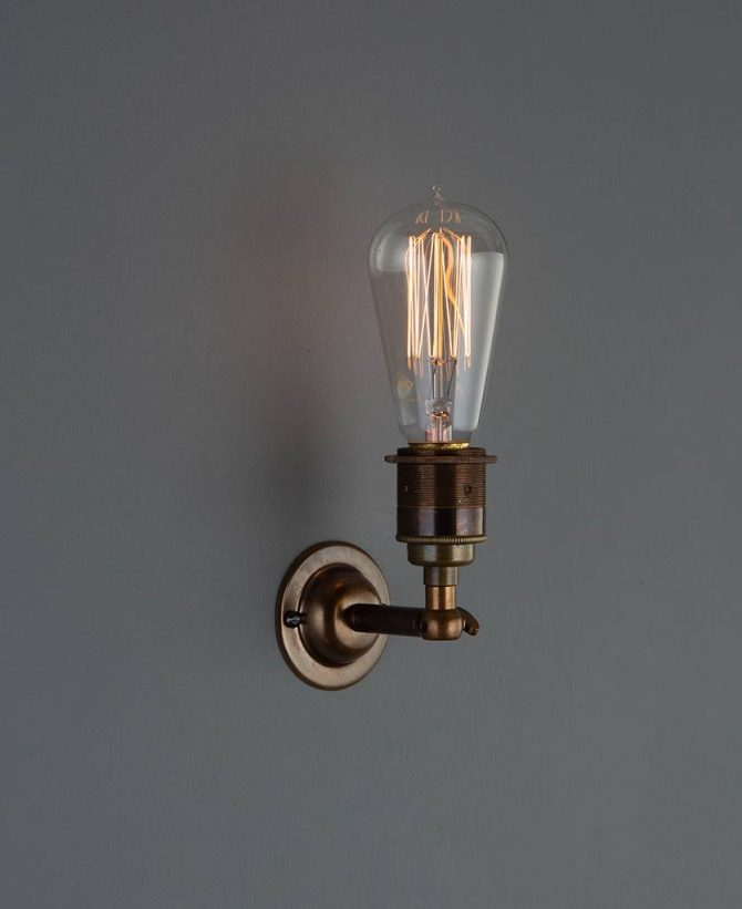 manston wall light antique