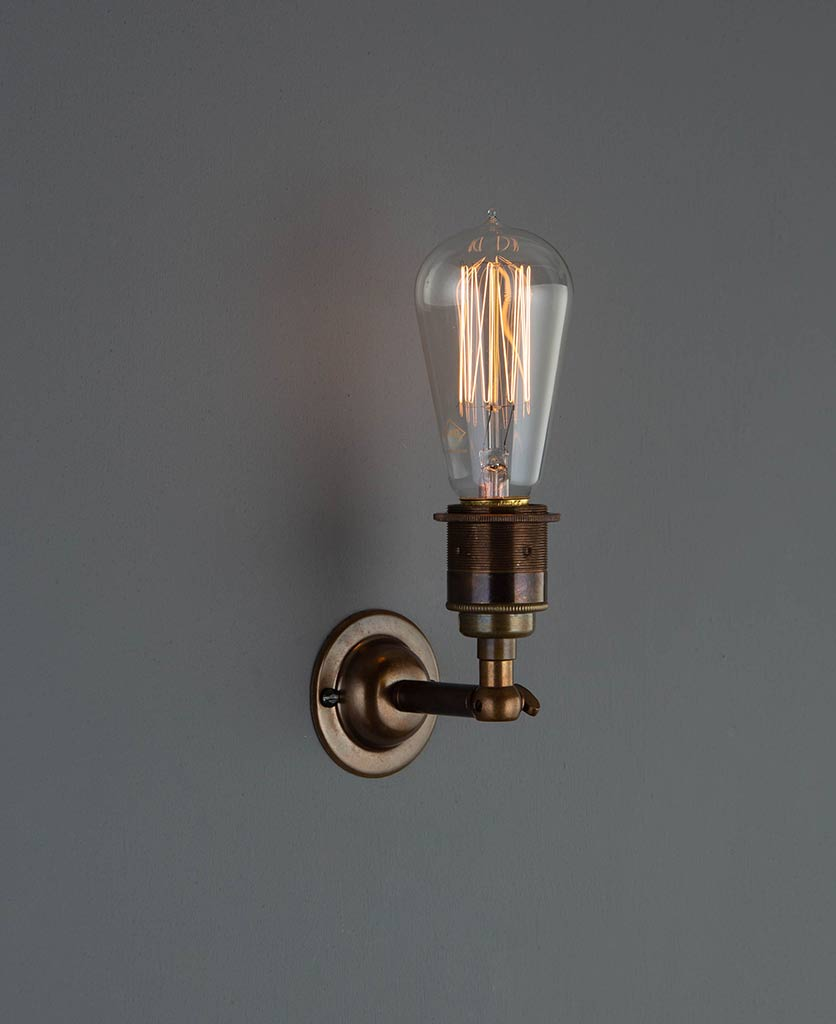 manston wall light antique