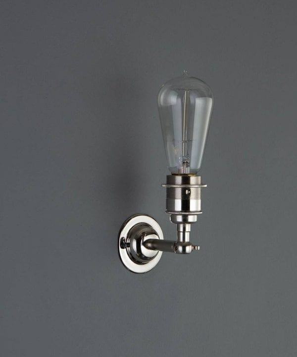 manston wall light silver